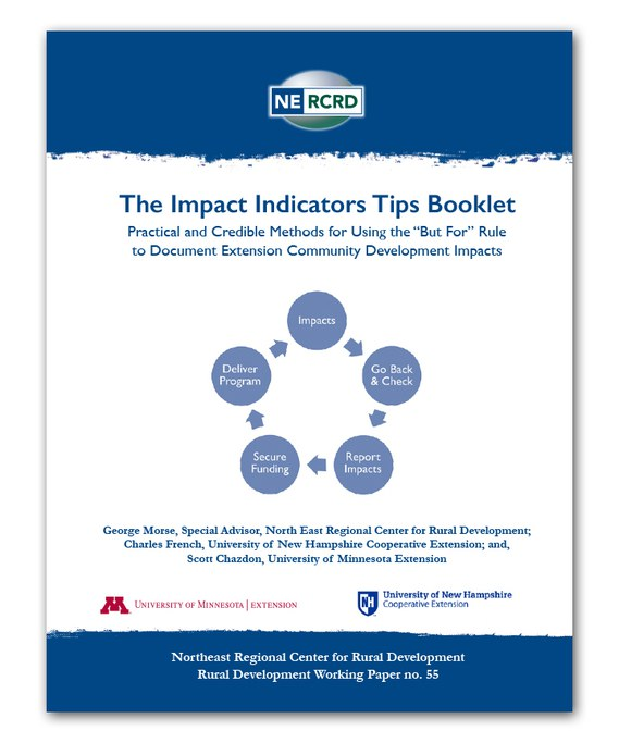 A thumbnail version of the Impact Indicators Tips Booklet cover