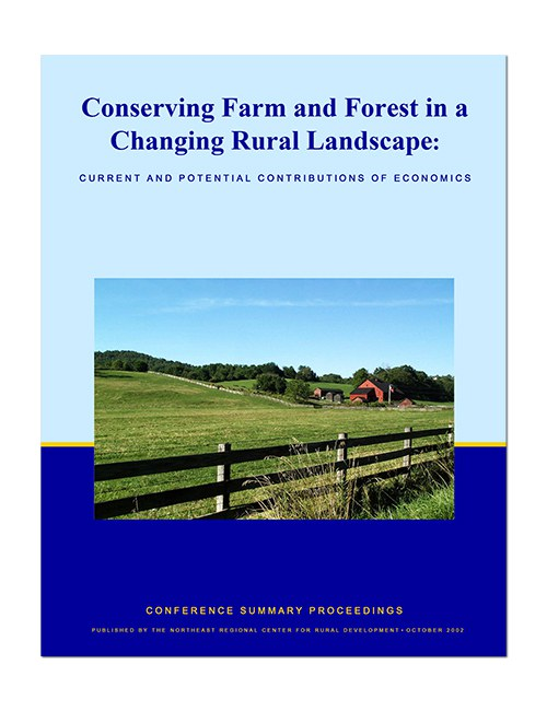 Conserving farm and forest cover