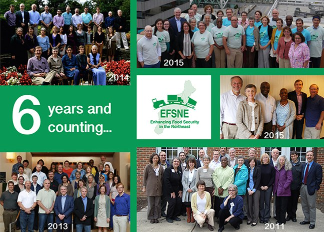 The EFSNE team has held annual in-person meetings since 2011.