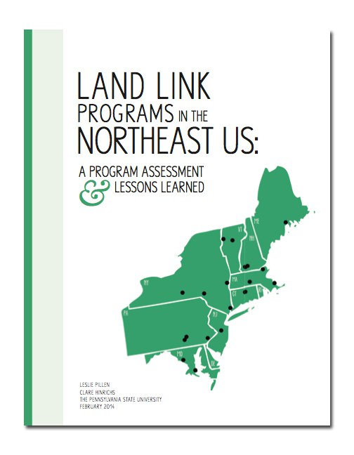 Cover page for Land Link Programs