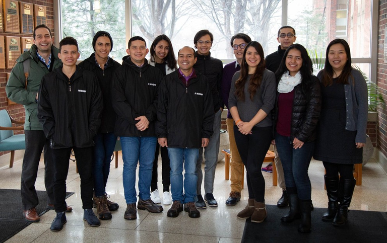 "As part of an international academic exchange program called ""Academic Mobility Program for Scientific Knowledge Transfer to Rural Communities for Peace,"" students and faculty from Fundación Universitaria del Área Andina in Bogotá, Colombia (Areandina Uni"